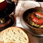 郷土料理☆チーズフォンヂュ、巨大ソーセージ@スイス旅行記、その8