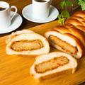 【動画】ミイラのようなオモシロ成形のコロッケパンの作り方