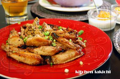 醤油麹と柚子胡椒のさっぱり和風チキンウイング【レシピ】