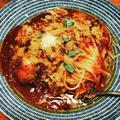 ポトフのスープでロールキャベツ