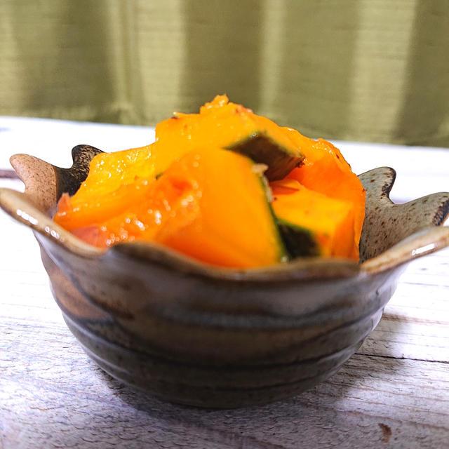の 煮物 レンジ かぼちゃ