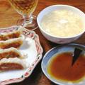 忙しい時に『たまご+豆腐』の簡単スープと『味の素冷凍ギョーザ』