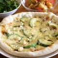 レンジ発酵・カリもちっ!フライパンピザ。の昼ご飯。 by 西山京子/ちょりママさん