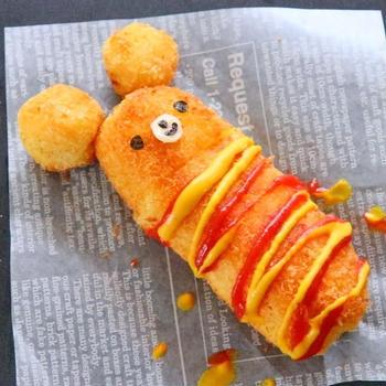 とろ~りのび~るチーズスティックマの作り方レシピ