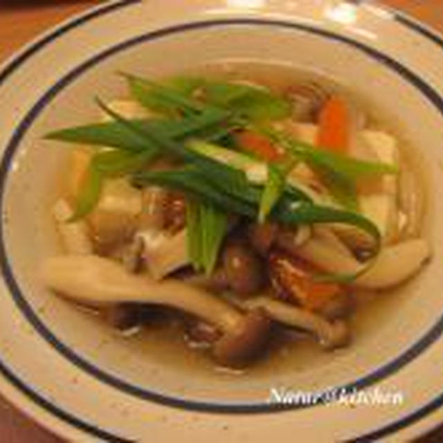 きのこ豆腐