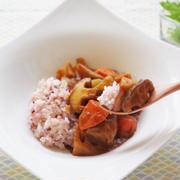 雑穀米の和風根菜カレー~DHオリーブチャンネルにて配信中~