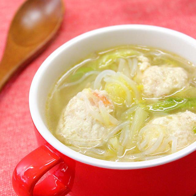 ダイエットや便秘に◎!「白菜とえび鶏だんごのスープ」