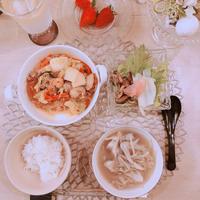 米油で簡単レシピ♪〜海の幸と春雨の野菜炒め〜