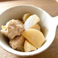 かぶと鶏団子の煮物
