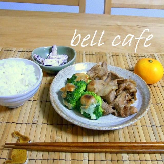 【カロリー・塩分量付き】豚もも肉の生姜焼き