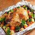 やわらかローストチキン、鶏の丸焼き作り方動画、クリスマス、パーティに最適!