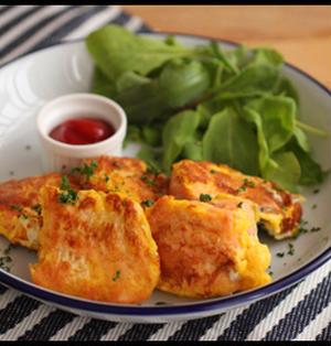 簡単!お弁当におすすめ♪フライパン1つで鮭のチーズピカタ