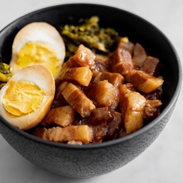 シンプルな魯肉飯(ルーローハン)のレシピ
