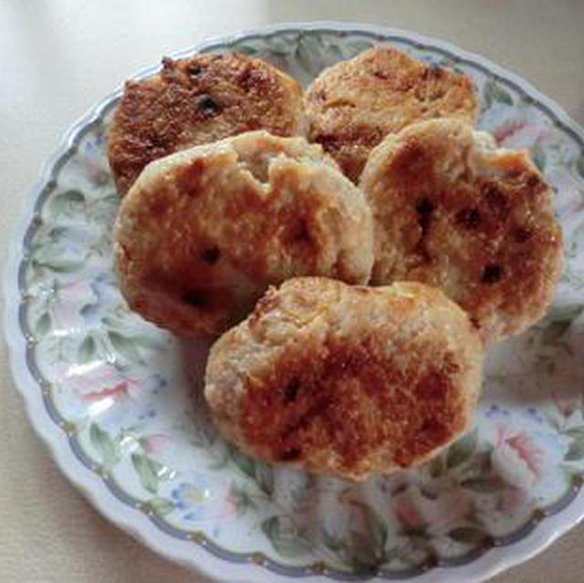 鶏ミンチの作り置きおかず チキンバーグ