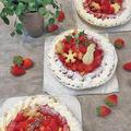 昨日作った今年のクリスマスケーキ第一弾は・・苺のタルト・苺のロールケーキです by pentaさん