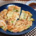 カリモチ食感、じゃがいもをすりおろして作るチヂミのレシピ