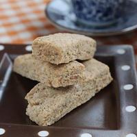 黒豆きな粉とメイプルシナモン風味のほろほろクッキー