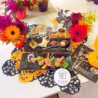 レシピブログさんイベント!花と料理で楽しむ♪ハッピーハロウィン講座