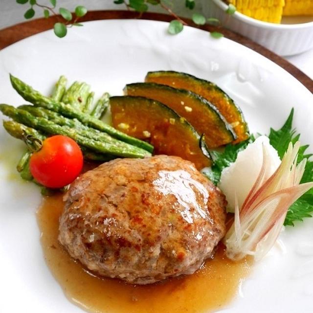 豆腐ハンバーグとトマトライス