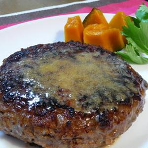 レンコンハンバーグ(柚子こしょうソース)