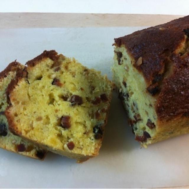 干し柿のパウンドケーキ*レシピ掲載のご報告