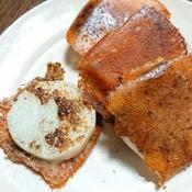 ピリッと黒胡椒の効いた長芋チーズ焼き