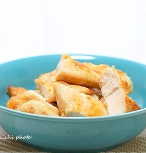 お弁当にもお酒にも「鶏ささみ肉のマヨ醤油ソテー」&「金麦あいあい皿レシピ公開されました」