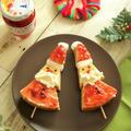 動画で!簡単に一品シリーズ【16】クリスマスに♪バウムサンタ串ケーキ