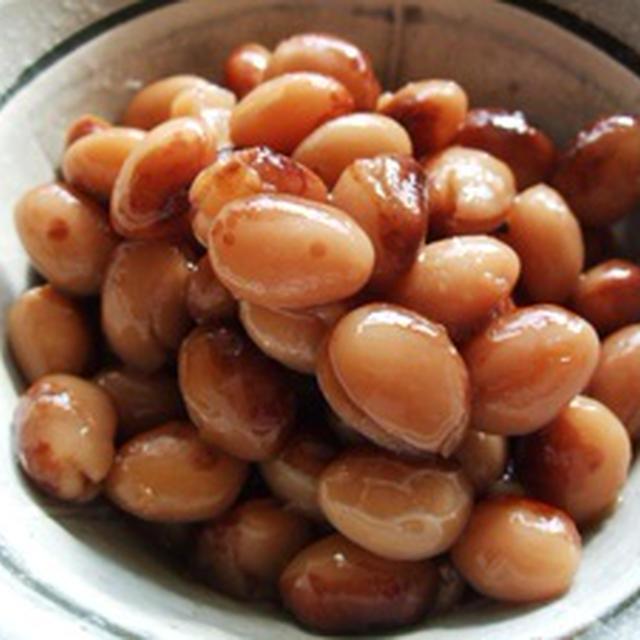 トラ豆を煮る