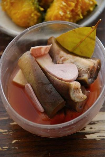スペイン風茄子のピリ辛ピクルス