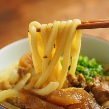 牛すじカレー風味煮込みうどん、牛すじ煮込みリメイクレシピ