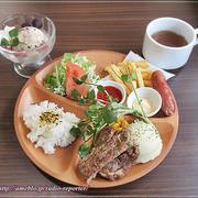 大人はダメ!お子様セット☆ハンバーグ&ステーキ vaca(バッカ)