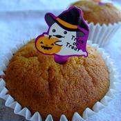 かぼちゃのカップケーキ