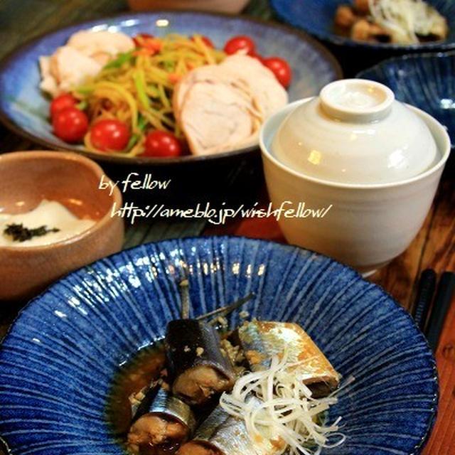 ◆秋刀魚の醤油麹煮でおうちごはん♪~ゆるやか糖質制限♪