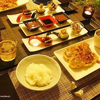 美味しいお取り寄せ♪簡単おつまみと一緒に、中華の夕食