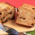 りんごとホットケーキミックスの混ぜるだけ!簡単パウンドケーキ