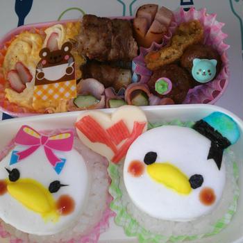 なーちんの遠足弁当&お誕生日ケーキ!