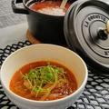 【レシピ】甘・辛・すっぱの白菜スープ
