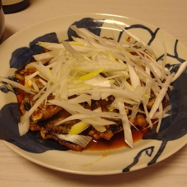 さんまーボー・海老芋となすのオイスター味噌煮