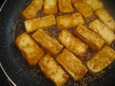 みたらし豆腐