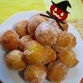 ハロウィン♡型いらずの簡単!パンプキン揚げコロコロドーナツ♪