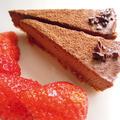 ムースみたいなローチョコレートケーキ