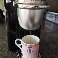 ブランチはコーヒーとクロックムッシュフライ...♡