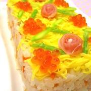 クリスマスケーキ寿司♪