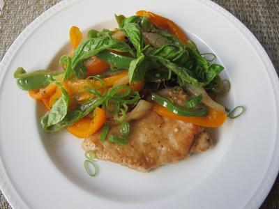 ジプシー風豚肉料理