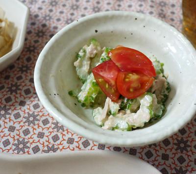 ゴーヤとツナのサラダ