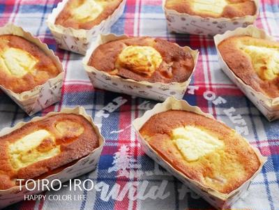 リンゴとクリームチーズのバターケーキと、今日のレシピ