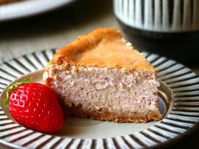 >いちごのチーズケーキ by ほずみさん