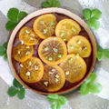 オレンジがたっぷり1個入った爽やかなチョコレートケーキ