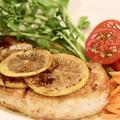 ◎おうちごはん 『メカジキのレモンバタームニエル』#レシピ#魚レシピ